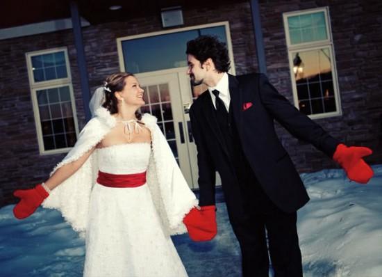 Сценарий свадьбы в зимнем стиле