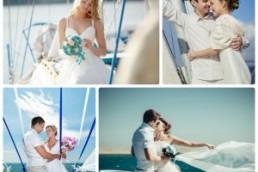 Преимущества свадьбы, организованной на яхте