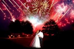 Салют на свадьбу: нюансы проведения