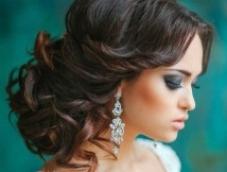 Подбираем серьги к образу невесты