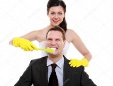 Подготовка к свадебному торжеству: невеста и ее зубки