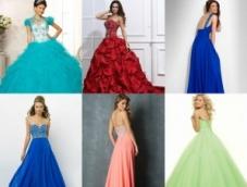 Цвет свадебного наряда и типы внешности невесты