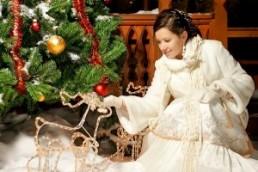 Особенности новогодней свадьба