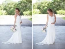Особенности фасонов свадебных платьев для беременных